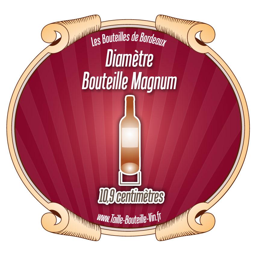 Magnum diam tre d 39 une bouteille de bordeaux magnum - Diametre bouteille de vin ...