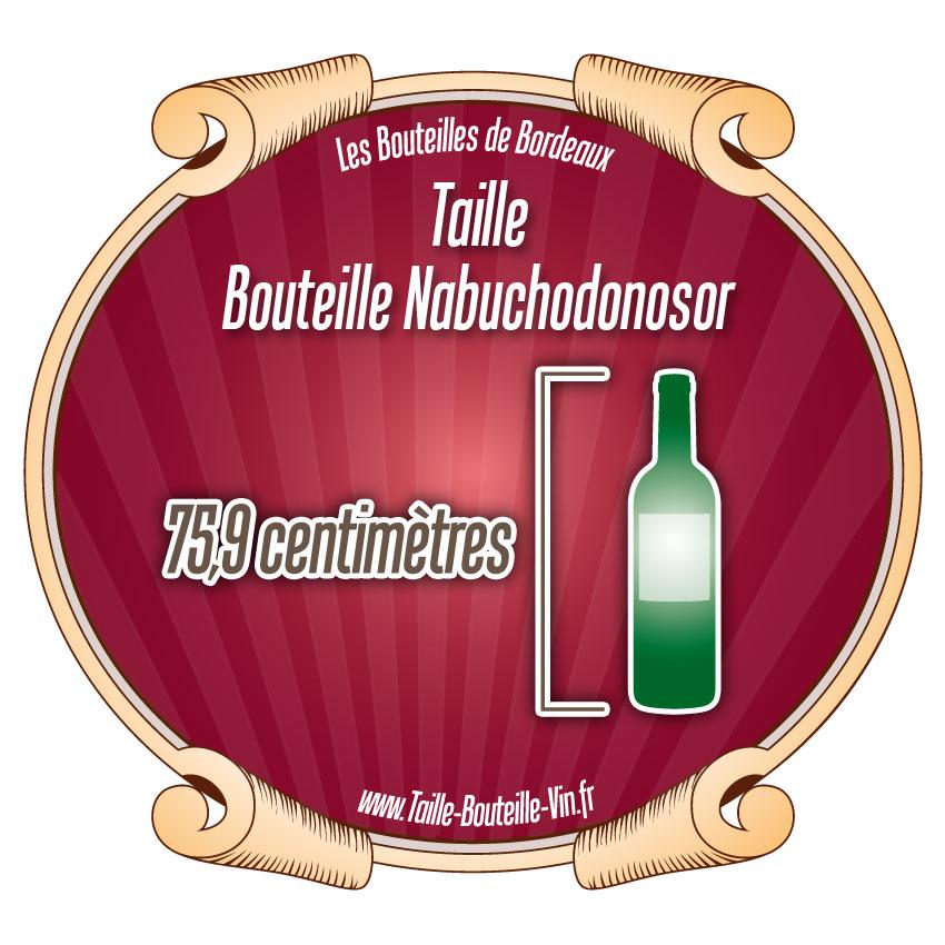 Nabuchodonosor tout sur la bouteille de bordeaux nabuchodonosor - Diametre bouteille de vin ...